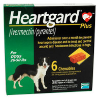 Heartgard Plus Chewables Green - 6 Pack