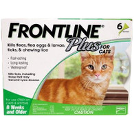 Frontline Plus for Cats - 6 Pack