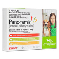 Panoramis for Dogs 20.1-40 lbs - Green 6 Pack