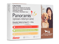 Panoramis for Dogs 60.1-120 lbs - Brown 6 Pack