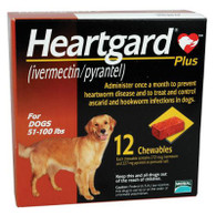 Heartgard Plus Chewables Brown - 12 Pack
