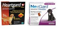 NexGard and Heartgard Combo for Dogs 50.1 - 60 lbs - 6 Pack