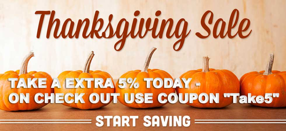 Coupon 5% off fall sale