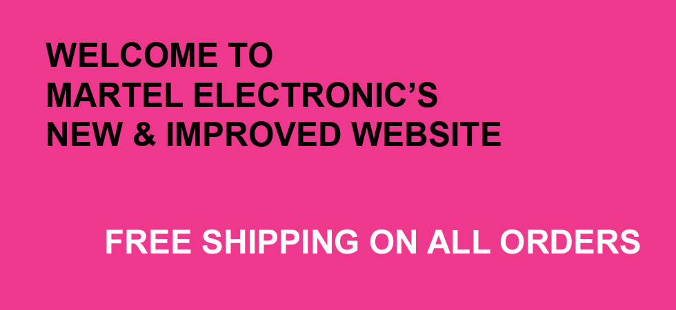 Martel Electronics new website 4/11/2014