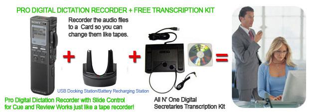 Professional Lawyers dictation/transcription equipment