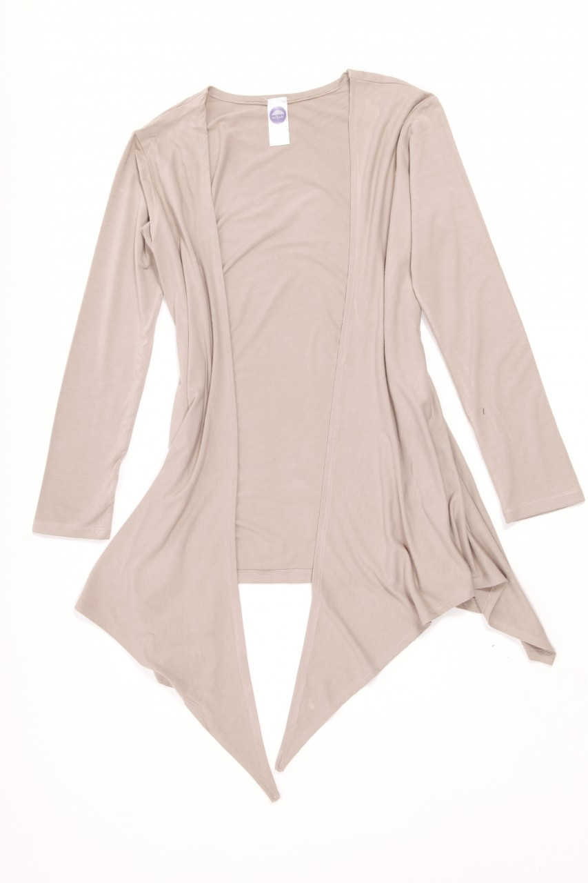 Cardigan. Colour Pictured: Taupe