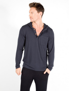 Men's Hoodie - Pictured: Charcoal