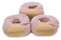 100% Baby Alpaca Skeins - Set of THREE by AndeanSun - Rose Light Grey - 16702003