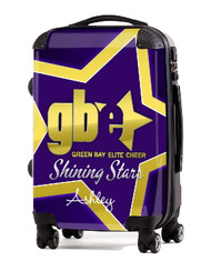 """Green Bay Elite Cheer SHINING STARS 24"""" Carry-on Luggage"""