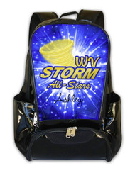 West Virginia Storm All-Stars Personalized Backpack