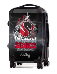 "Universal Sonics Allstar Cheer 20"" Carry-on Luggage"