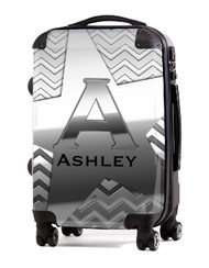 "Silver on Silver 20"" Carry-on Luggage"