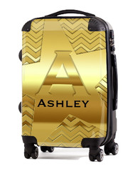 "Gold on Gold 20"" Carry-on Luggage"