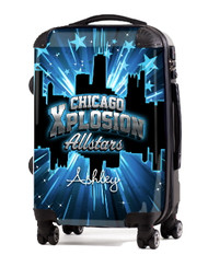 """Chicago Xplosion Allstars 20"""" Carry-On Luggage"""