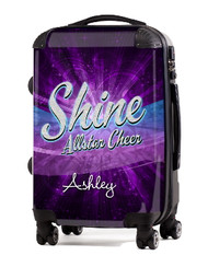 "Shine Allstar Cheer 20"" Carry-On Luggage"