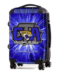 "Cheer Tyme Allstars Georgia 24"" Check In Luggage"