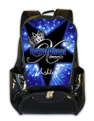 Royal Cheer Xtreme Personalized Backpack