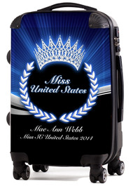 "Miss United States 20"" Carry-On Luggage"