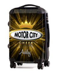 "Motor City Cheer- 24"" Check In Luggage"