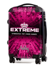 "Extreme Cheer and Tumbling Texas- 24"" Check In Luggage"