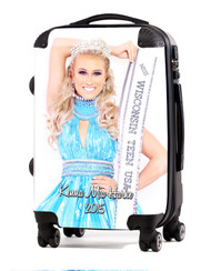 "Keena Harke Miss Teen Wisconsin 20"" Carry-On Luggage"