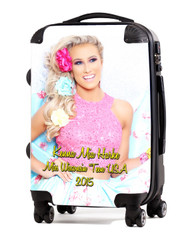 "Keena Harke Miss Teen Wisconsin-Opt2 20"" Carry-On Luggage"