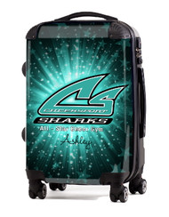 """Cheer Sport Sharks 20"""" Carry-on Luggage"""