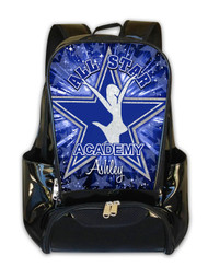 ALL STAR ACADEMY TEXAS-Personalized Backpack
