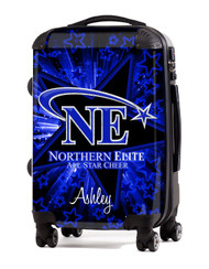 "Northern Elite All Star Cheer- 24"" Check In Luggage"