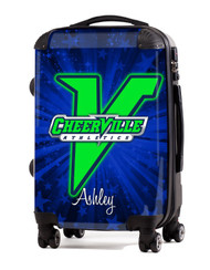 "CheerVille Athletics 20"" Carry-On Luggage"