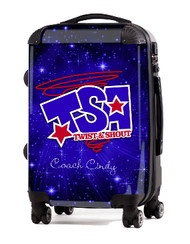 "Twist and Shout Academy 20"" Carry-on Luggage"