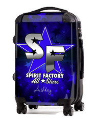 """Spirit Factory All Stars 20"""" Carry-on Luggage"""