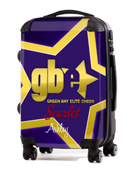 """Green Bay Elite Cheer Scarlet 20"""" Carry-on Luggage"""