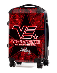 "Valley Elite All Star Cheer 24"" Check In Luggage"