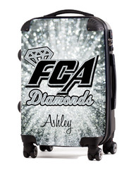 "FCA Diamonds- 20"" Carry-On Luggage"
