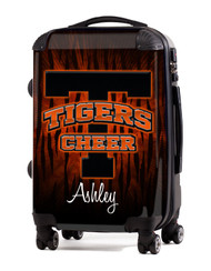 "Tuckahoe Tigers Cheer 20"" Carry-On Luggage"