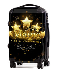 """Magic All Star Cheerleading 20"""" Carry-on Luggage"""