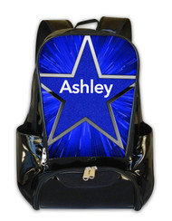 Blue Blast 2 -Personalized Backpack