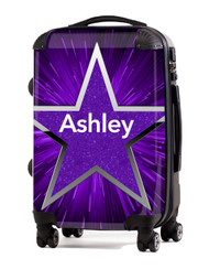 "Purple Blast 2 - 20"" Carry-On Luggage"