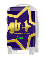 """Insert for Green Bay Elite-LIME 24"""" CARRY-ON LUGGAGE"""