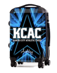"""Kansas City Athletic Cheer 20"""" Carry-on Luggage"""