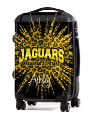 "Arkansas All Star  Jaguars 24"" Check In Luggage"