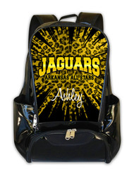 Arkansas All Star Jaguars Personalized Backpack
