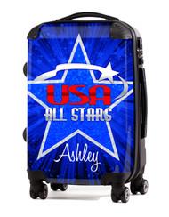"""USA Allstars 24"""" Check In Luggage"""