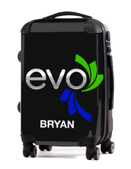 "Evo Athletics Black 20"" Carry-On Luggage"