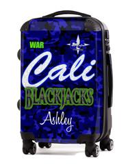 """California Allstars -Las Vegas Blackjacks- 20"""" Carry-On Luggage"""