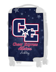 "Cheer Express All Stars Dark Blue 20"" Carry-on Luggage Insert"