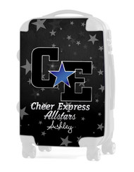 "Cheer Express All Stars - Dark Gray 20"" Carry-on Luggage Insert"