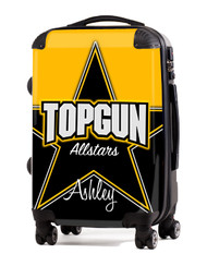 "Top Gun All Stars Cheer v2- 20"" Carry-On Luggage"