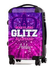 "Maryland Glitz AllStars 24"" Check In Luggage"